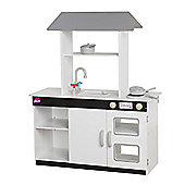 Plum® Boston Wooden Role Play Kitchen with Accessories