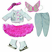 Baby Born Deluxe Ice Dancing Princess Outfit