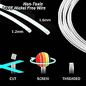 Urban Male 1.6mm Cut To Size PTFE Flexible Wire Stem 500mm