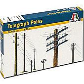Italeri Telegraph Poles 404 1:35 Model Kit