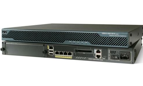 Cisco ASA 5510 Security Plus Appliance (Chassis, Software, 150 VPN Peers, Five Fast Ethernet interfaces, 3DES/AES)