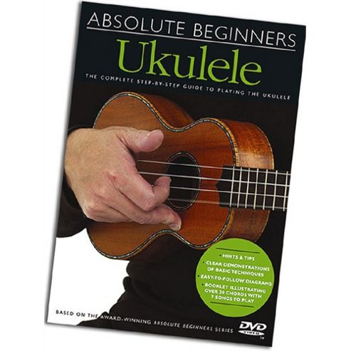 Absolute Beginners DVUKE Ukulele DVD