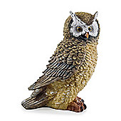 The Hooters' Realistic Resin Garden Owl Ornament - Design B