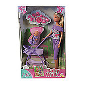 Steffi Love Baby Walk Doll