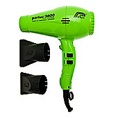 Parlux 3800 Ceramic & Ionic Hair Dryer Green