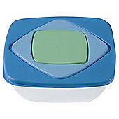 Bramli Nested Square Blue Food Containers, Set of 3