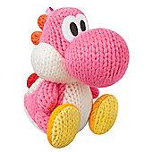 Nintendo Amiibo Light Pink Yarn Yoshi (Yoshis Woolly World Series) - NintendoWiiU