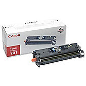 Canon 701 Cyan Toner Cartridge High Capacity (Yield 4,000 pages)