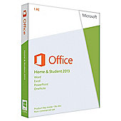 Microsoft Office Home & Student 2013 for PC.