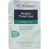 Kolorex Kolorex Mouth And Throat Care Herbal Tea 20 Tea Bags