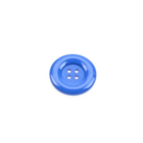 Dill Buttons 23mm Round - Royal Blue