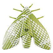 Jalo Scandinavian Design Lento Moth Smoke Alarm in Green J2-A-012