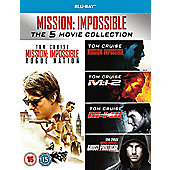 Mission Impossible Season 1-5 Blu-ray