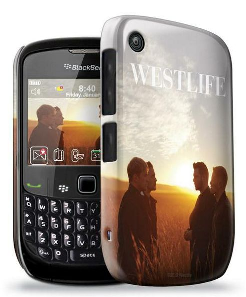 Blackberry 8520 - Official Westlife Phone Clip Case