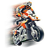Real RC Moto X Remote Control Stunt Bike