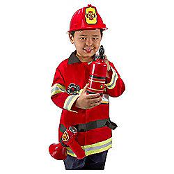 Melissa & Doug Role Play Costume Set Fire Chief