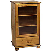 Kayleigh - Solid Wood Entertainment Tower / Hifi Unit - Antique Pine