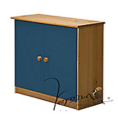 Verona Ribera Cupboard - Antique / Blue