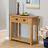Stirling Oak Console Table