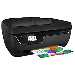HP OfficeJet 3831, Wireless All-in-One Inkjet Mono Printer, A4 - Black