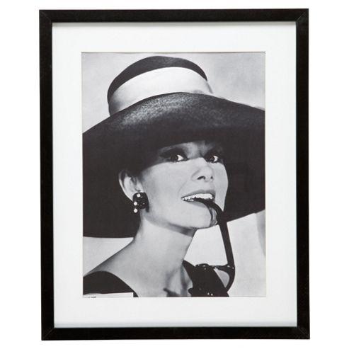 Framed Poster Print - Audrey Hepburn
