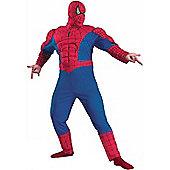 Muscle Chest Spiderman Super Hero Costume (Plus Size)
