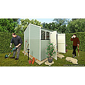 BillyOh 5000 8 x 10 Workman's Hut Tongue & Groove Shed