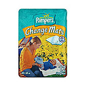 Pampers Change Mats - 12 Pack