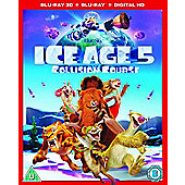 Ice Age: Collision Course Blu-ray 3D