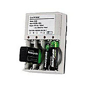 Buy@Home Compact Aa Aaa Or 9V Battery Charger B046