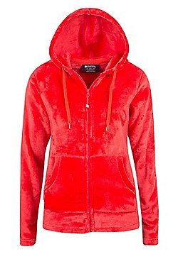 Mountain Warehouse Snaggle Womens Hooded Fleece - Pink