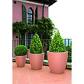 Farmet New Orione Alto Round Pot - Aged Stone - 60cm H x 60cm W x 60cm D