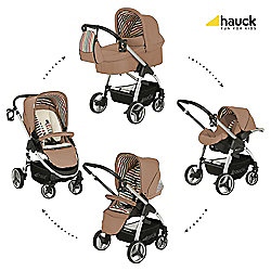 Hauck Lacrosse All-In-One Pushchair, Toast