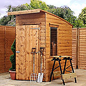 6ft x 4ft Tongue & Groove Curved Roof Shed