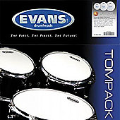 Evans ETP-G2CTD-F Genera G2 Coated Drum Head Pack (Fusion)