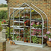 Halls 6x2 Supreme Wall Greenhouse - Toughened Glass