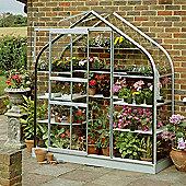 Halls 6x2 Supreme Wall Greenhouse - Toughened Glass