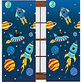 Rocket Curtains 72s - Multi