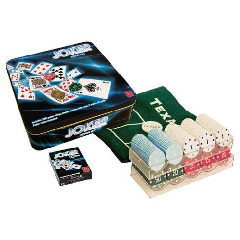 Cartamundi Joker Poker Set In Tin