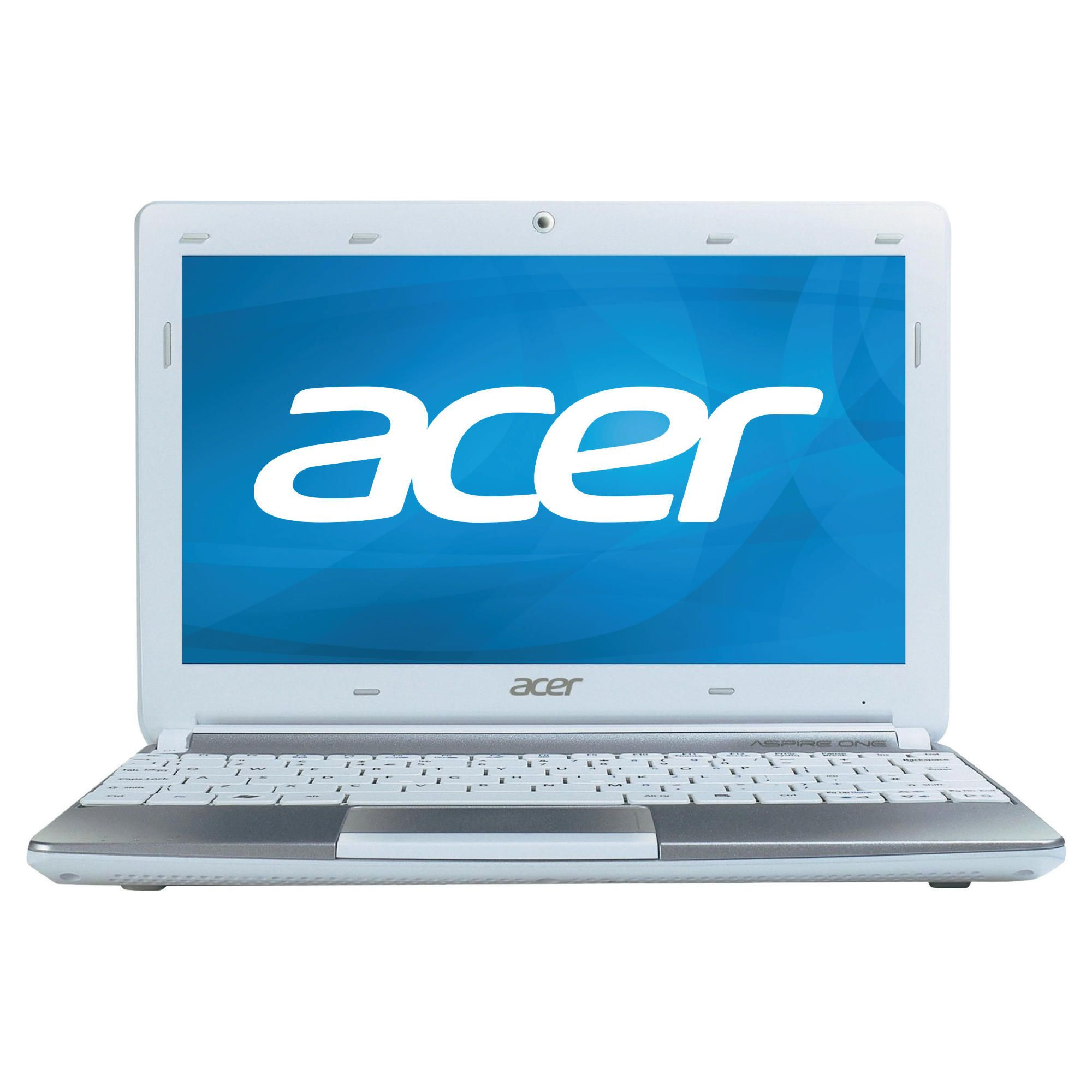 Acer Aspire One D270 Netbook (Intel Atom N2600, 1GB, 320GB, 6 Cell, 10.1'' Display) White at Tesco Direct