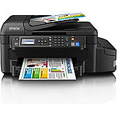 Epson EcoTank ET-4550, Wireless All-in-One Inkjet Colour Printer, A4 - Black