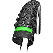 Schwalbe Smart Sam Plus Tyre: 26 x 2.25 Black Wired. HS 367, 57-559, Performance Line