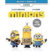 Minions Blu-ray
