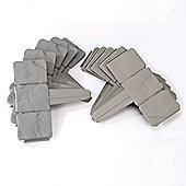 Cobbled Stone Edging - Grey (Pack of 10)