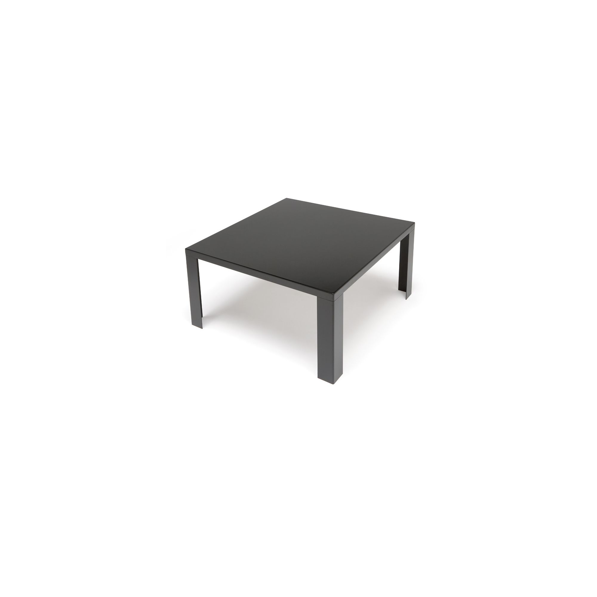 Andreu World Pure Coffee Table - 34cm x 90cm x 90cm - Black at Tesco Direct