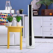 Igenix DF0037 35 Inch Digital Tower Fan with 8H Timer, Remote Control - White