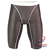 Nike Swift Mens Professional Speed Swimming & Triathlon AMPd Jammers - Grey