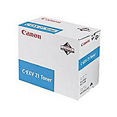 Canon C-EXV21 (Cyan) Toner Cartridge (Yield 14,000 Pages)