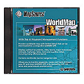 MapSource WorldMap CD For GPS Device