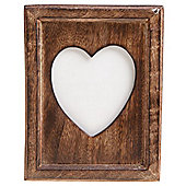 Wooden Photo Picture Frame - Brown